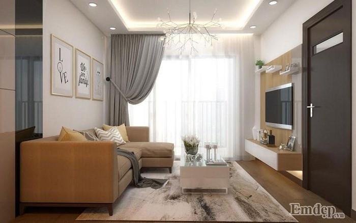 Chỉ 'đắp' 200 triệu, căn hộ 70m2 đẹp tới từng chi tiết