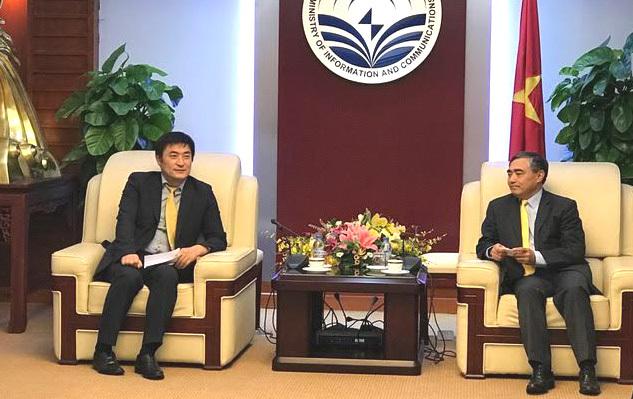 Bộ Thông tin và Truyền thông, Hàn Quốc, hợp tác Việt - Hàn