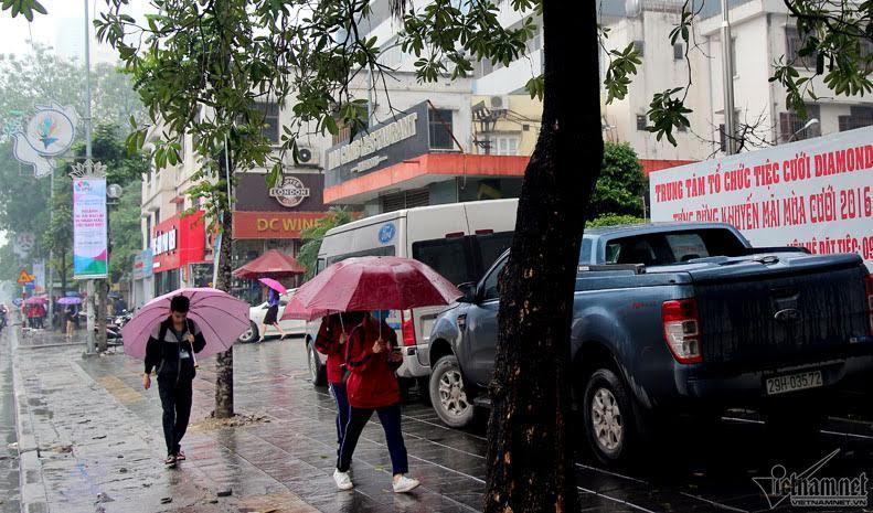Dự báo thời tiết 18/3: Miền Bắc mưa còn dầm dề