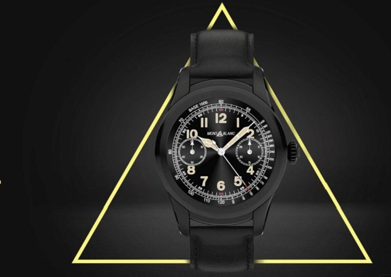 Montblanc, smartwatch, Summit