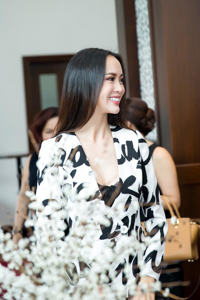 Diễn viên Vũ Ngọc Anh, hoa hậu, người đẹp, rạng rỡ, top 5