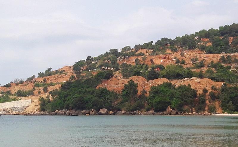 bán đảo Sơn Trà, công trình trái phép, cày xới bán đảo Sơn Trà, Đà Nẵng