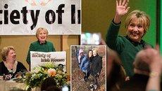 """Hillary tuyên bố """"sẵn sàng ra khỏi rừng"""""""