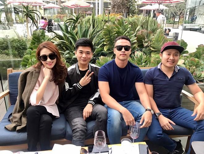 Đặng Thu Thảo, Hoa hậu Đặng Thu Thảo, Trung Tín, Đỗ Quang Vinh, bầu Hiển