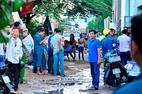 Nổ bình gió đá ở Sài Gòn, 4 người bị thương