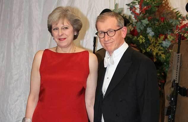 thủ tướng Anh, việc nhà, Theresa May