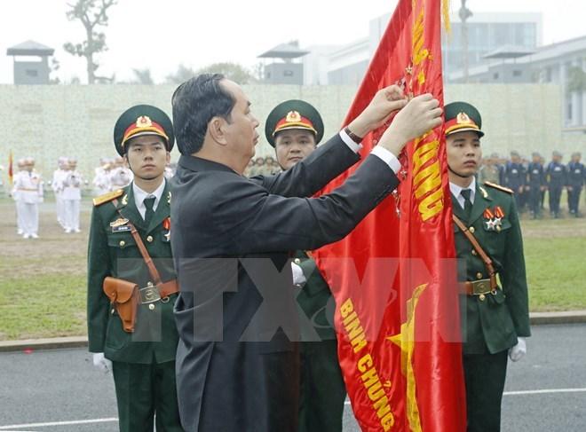 đặc công, binh chủng đặc công, Chủ tịch nước Trần Đại Quang, Trần Đại Quang