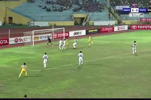Pape Omar mở tỷ số cho FLC Thanh Hóa 45'
