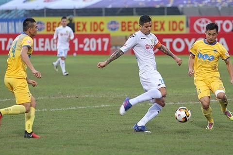 Video bàn thắng Hà Nội FC 2-1 FLC Thanh Hóa