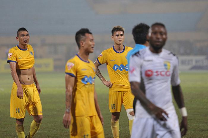 CLB FLC Thanh Hóa, Đinh Tiến Thành, Hà Nội FC,VFF