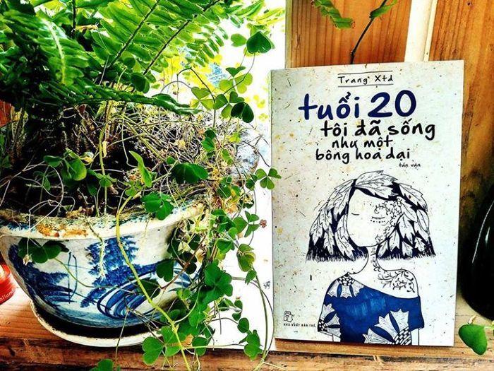 Trang xtd, Lê Nguyễn Nhật Linh,  Tuổi 20 tôi đã sống như một bông hoa dại,  Đến Nhật Bản học về cuộc đời