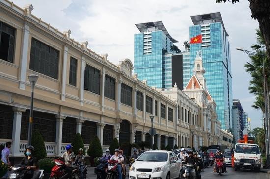 Quận 1, Đoàn Ngọc Hải, vỉa hè, tòa nhà UBND TPHCM,  Singapore thu nhỏ,