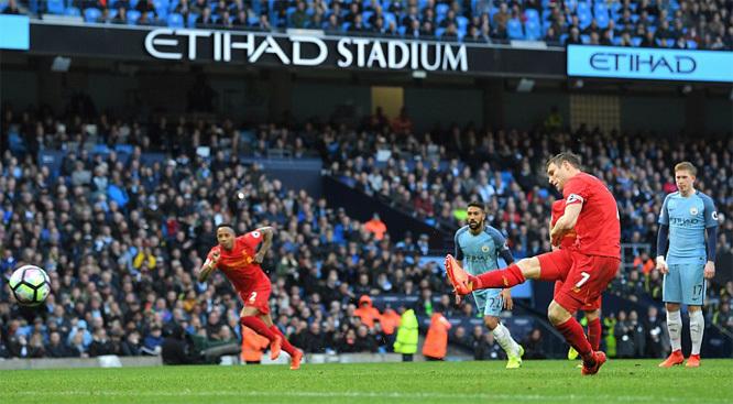 Video bàn thắng Man City 1-1 Liverpool