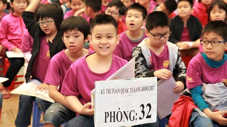 Gần 10.000 học sinh tranh tài ở cuộc thi toán quốc tế