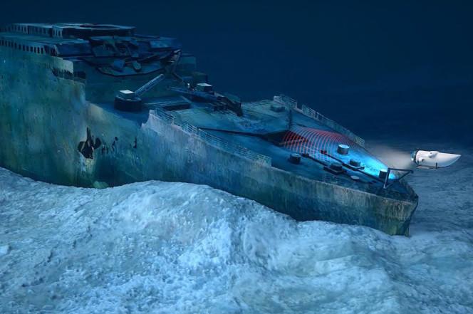 Người giàu chi hơn 2 tỷ đồng đi xem xác tàu Titanic