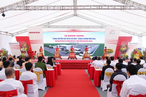 Khánh thành Trung tâm đào tạo LXAT 3,3 triệu USD