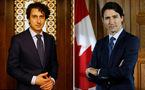 Xuất hiện bản sao của Thủ tướng Canada đẹp trai