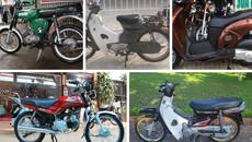 Những mẫu xe máy đã từng 'làm mưa làm gió' ở Việt Nam
