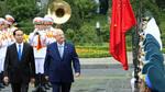 Hình ảnh lễ đón chính thức Tổng thống Israel