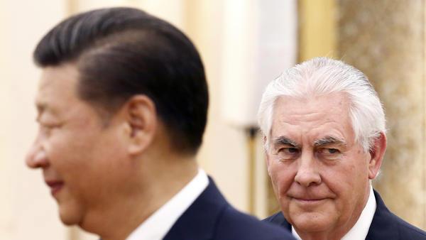 Ngoại trưởng Mỹ, châu Á, hy vọng, bất trắc, Triều Tiên, Hàn Quốc, Nhật Bản, Trung Quốc, Tập Cận Bình, Tổng thống Trump