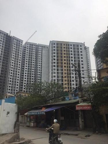 tranh chấp chung cư, dự án Home City Trung Kính, mua nhà chung cư