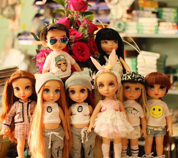 bộ sưu tập búp, búp bê, nữ giám đốc 8x, búp bê barbie, bộ sưu tập búp bê