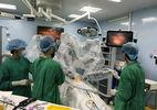 Ca mổ ung thư dạ dày bằng robot đầu tiên ở Việt Nam