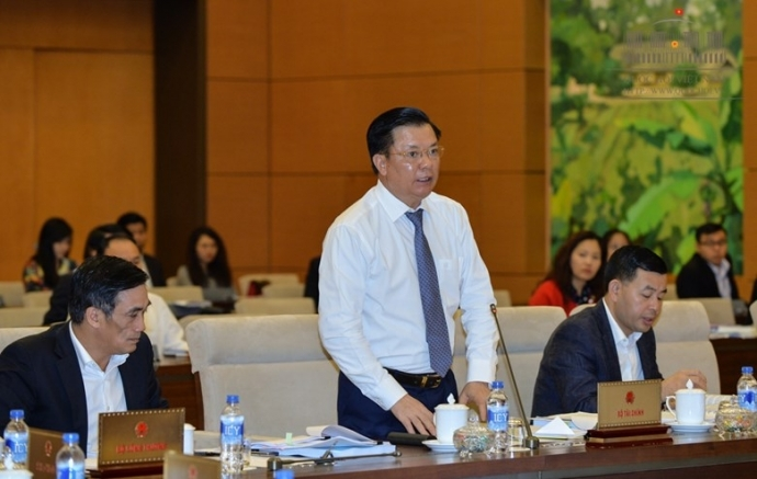 Bộ trưởng Bộ Tài chính, Đinh Tiến Dũng, nợ công, trả nợ