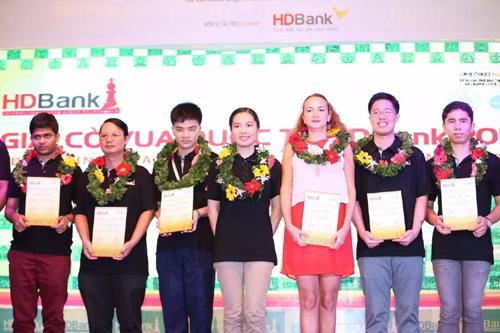 Chuyện 'Tài và sắc' ở giải cờ vua HDBank 2017