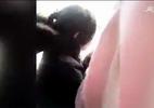 Cô gái trốn vé xe buýt bất ngờ ngã lộn nhào xuống đường