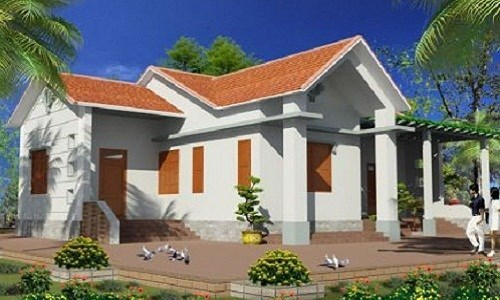 thiết kế nhà cấp 4, xây nhà, chi phí xây nhà cấp 4