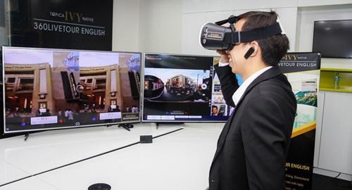 Học tiếng Anh bằng công nghệ thực tế ảo