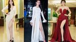 Những chiếc váy xẻ gợi cảm của Mai Phương Thuý, Thủy Tiên