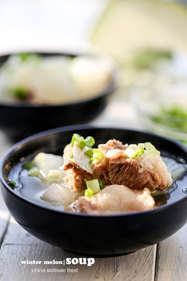 món ngon, học nấu ăn, bí đao, ẩm thực