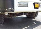 Công an điều tra vụ cắm đinh lạ đời bẫy ô tô