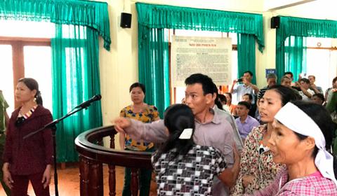 Náo loạn phiên xử kêu oan ở Hà Tĩnh - ảnh 1