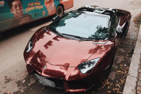 Thiếu gia 9x Hà thành 'show hàng' Aventador hơn 20 tỷ