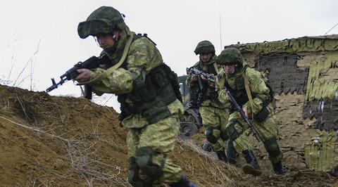 Nga tập trận quy mô lớn tại Crưm