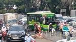 TPHCM thí điểm 2 tuyến đường có làn dành riêng cho xe buýt