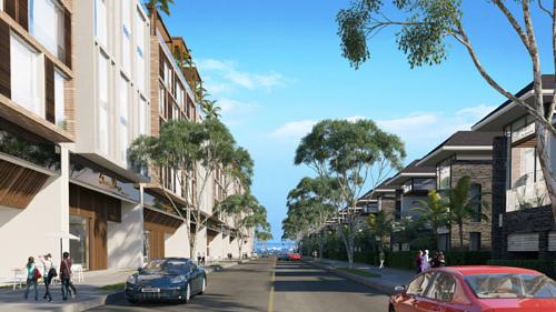 Phối cảnh phân khu khách sạn biển - Boutique Hotel tại dự án Ocean Dunes Phan Thiết