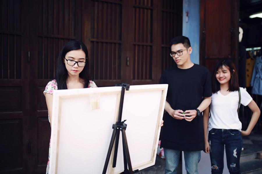 Lương Giang: 'Ông xã luôn ủng hộ tôi làm nghệ thuật'