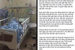 Cô gái Hà Nội không ngờ bố chết vì rượu giả