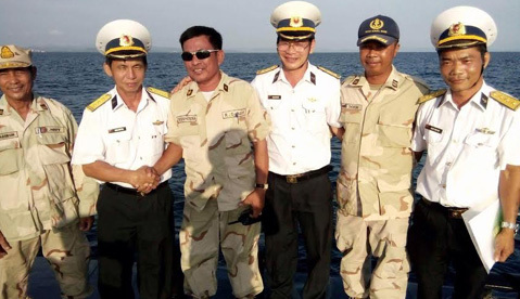 Hải quân VN tuần tra chung với Hải quân hoàng gia Campuchia