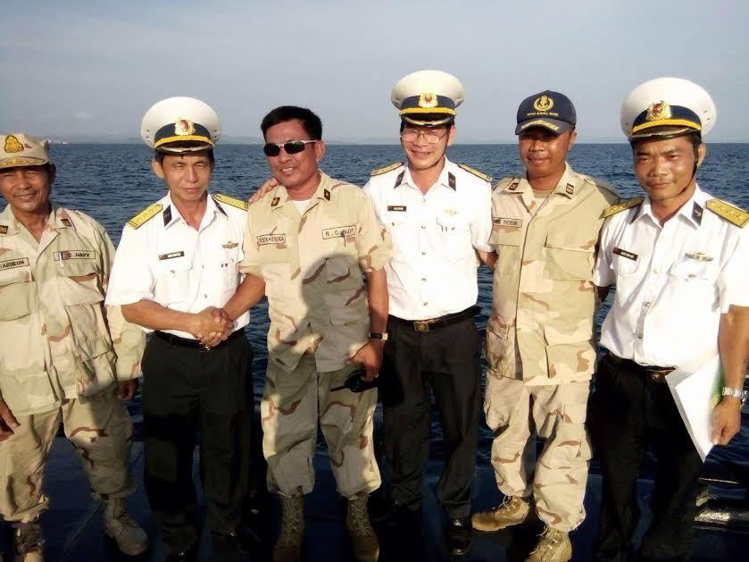 Hải quân, tuần tra chung, Hải quân Việt Nam, Hải quân Campuchia