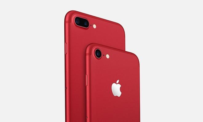 iPhone 7 bản màu đỏ chính thức ra mắt, giá 749 USD