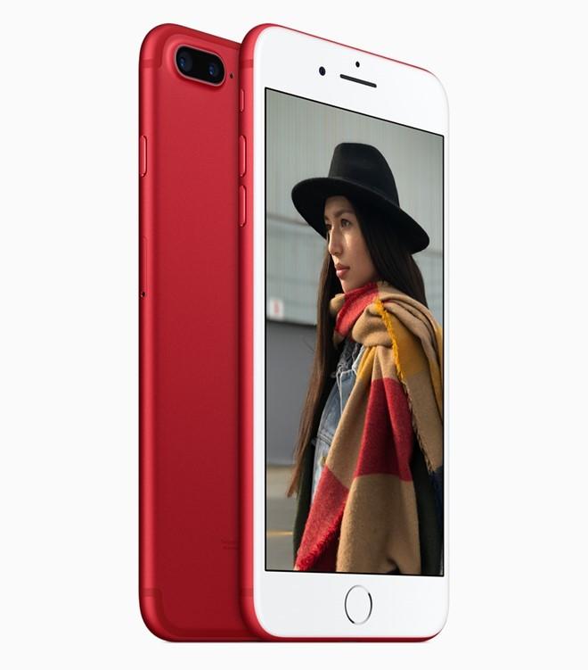 iPhone 7 màu đỏ, iPhone 7 Plus màu đỏ