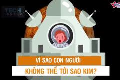 """Thử hạ cánh xuống sao Kim - """"tử địa"""" của các phi hành gia"""