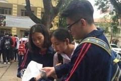 """Từ đề thi thử: Bộ và Sở Giáo dục nói về biện pháp """"chống sai"""""""