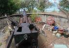 Vật liệu phế thải 'bao vây' trận địa pháo cổ nhất Đông Dương