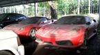 Xót xa cảnh những siêu xe và xe sang phủ bụi tại Việt Nam